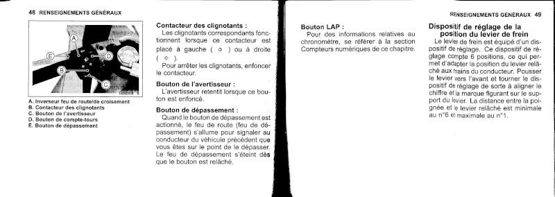 manuel du propriétaire zx6r 2009 / 2010 2510