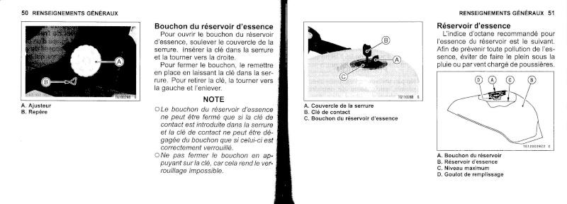 manuel du propriétaire zx6r 2009 / 2010 2610