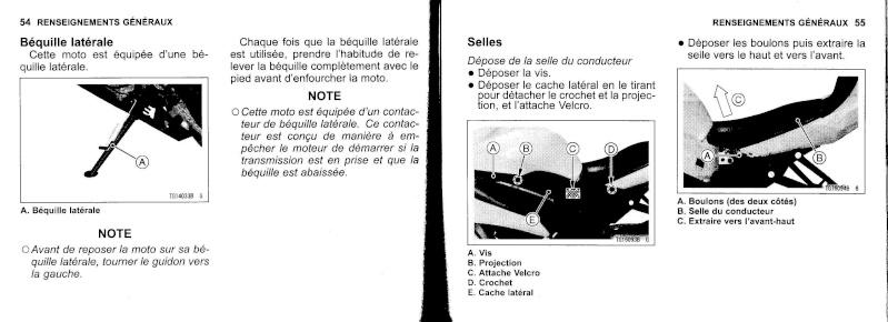 manuel du propriétaire zx6r 2009 / 2010 2810