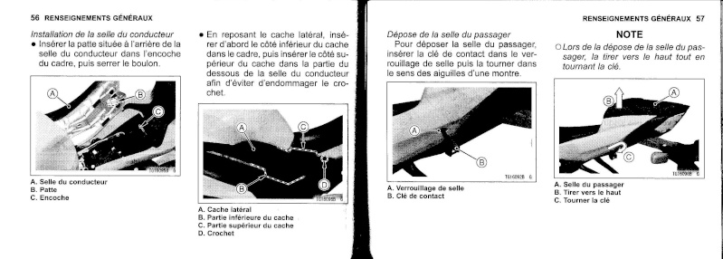 manuel du propriétaire zx6r 2009 / 2010 2910