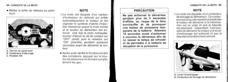 manuel du propriétaire zx6r 2009 / 2010 3310