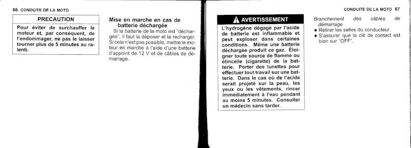 manuel du propriétaire zx6r 2009 / 2010 3410