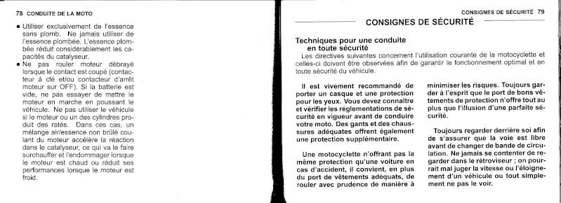 manuel du propriétaire zx6r 2009 / 2010 4010