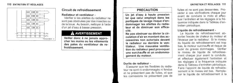 manuel du propriétaire zx6r 2009 / 2010 5610