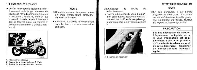 manuel du propriétaire zx6r 2009 / 2010 5810