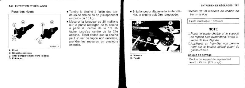 manuel du propriétaire zx6r 2009 / 2010 7110