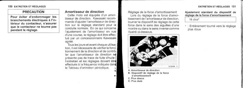manuel du propriétaire zx6r 2009 / 2010 7610