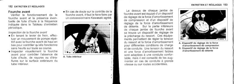 manuel du propriétaire zx6r 2009 / 2010 7710