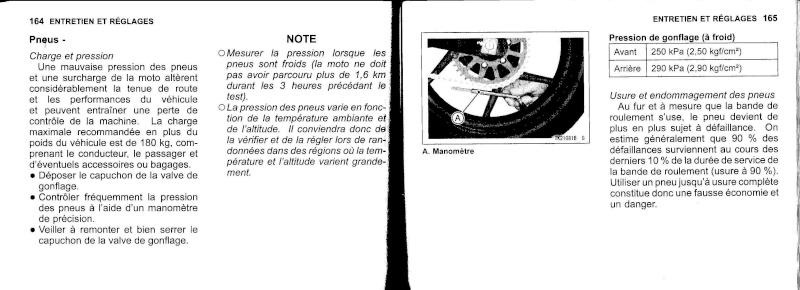 manuel du propriétaire zx6r 2009 / 2010 8310