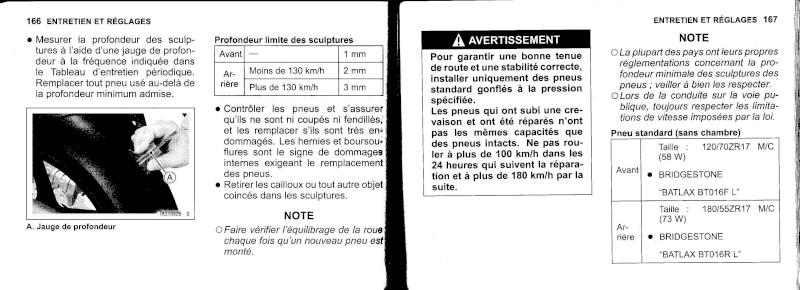 manuel du propriétaire zx6r 2009 / 2010 8410