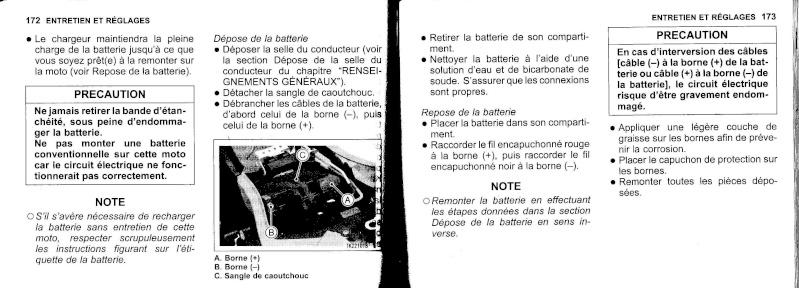manuel du propriétaire zx6r 2009 / 2010 8710