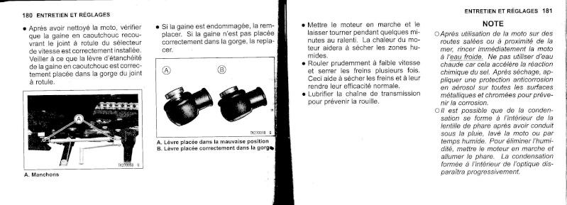 manuel du propriétaire zx6r 2009 / 2010 9110