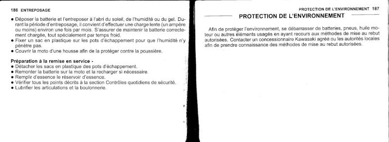 manuel du propriétaire zx6r 2009 / 2010 9410