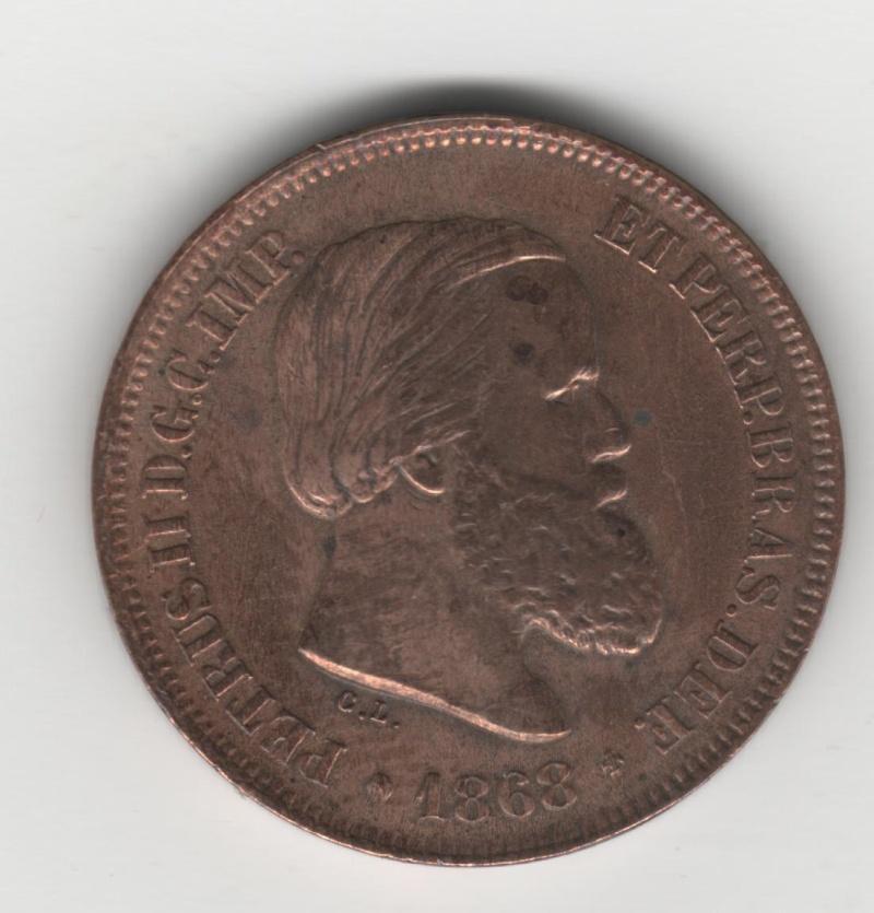 10 Reis. Portugal. 1868. Rio de Janeiro 01_ped10