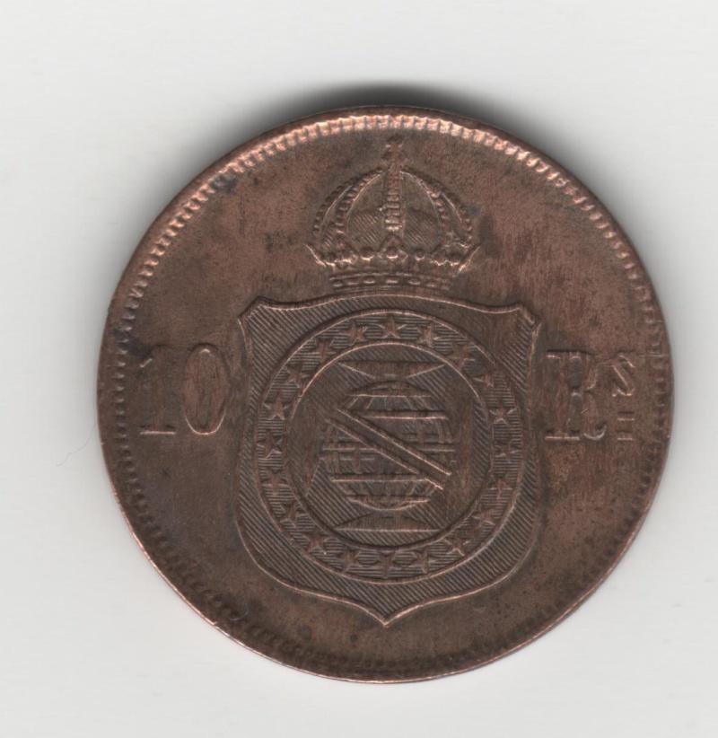 10 Reis. Portugal. 1868. Rio de Janeiro 1_c_l_10