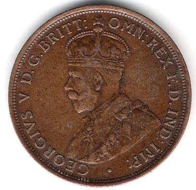 1 Penny. Australia. 1911 Aus_1_10