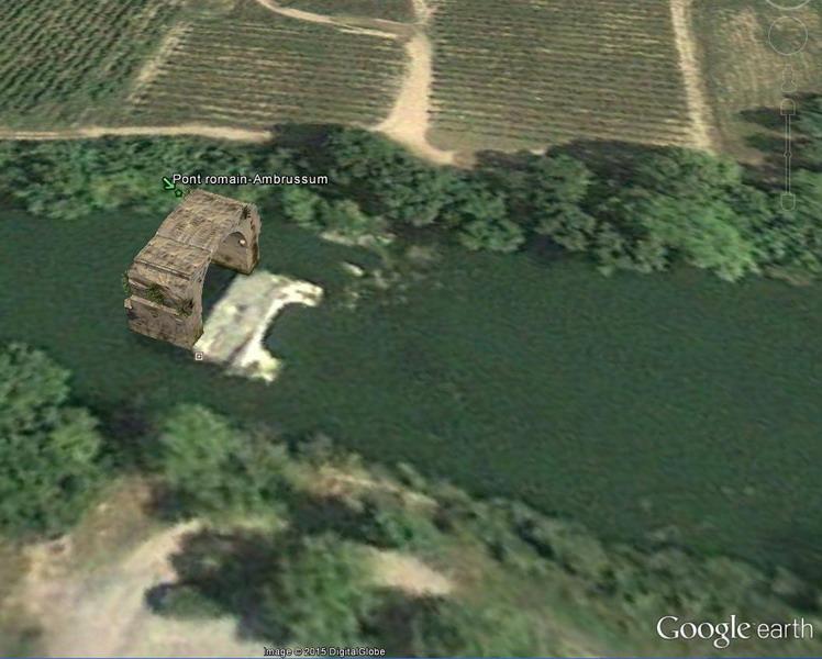 Le pont romain d'Ambrussum à Villetelle (34) 01-pon10