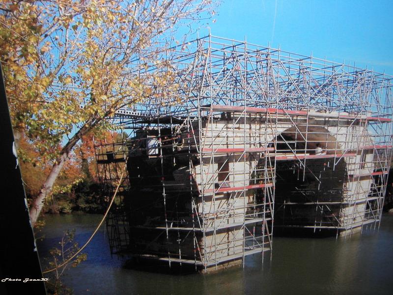 Le pont romain d'Ambrussum à Villetelle (34) 05-pb210