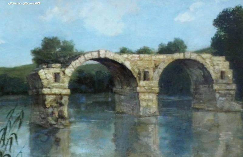 Le pont romain d'Ambrussum à Villetelle (34) 06-pb210