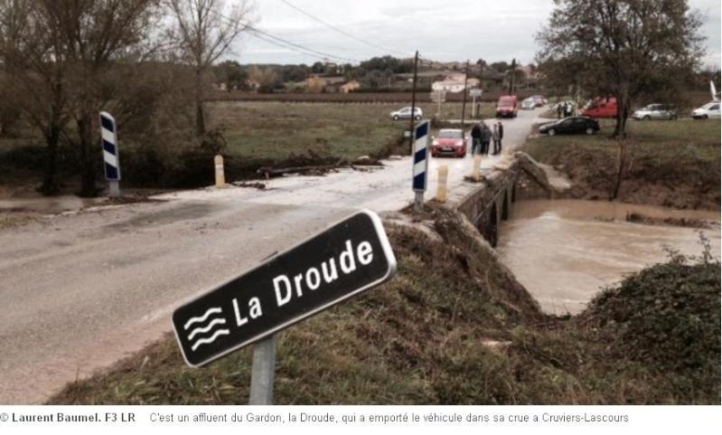 Routes et ponts submersibles Droude11