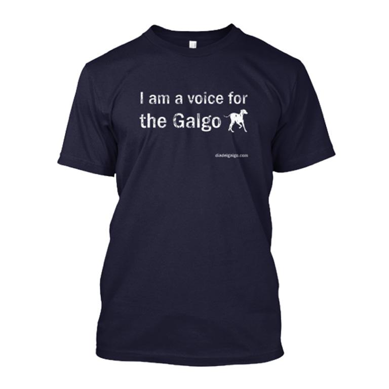 "Tee shirt ""I am a voice for the galgo""  jusqu'au 26/2 Tshirt10"