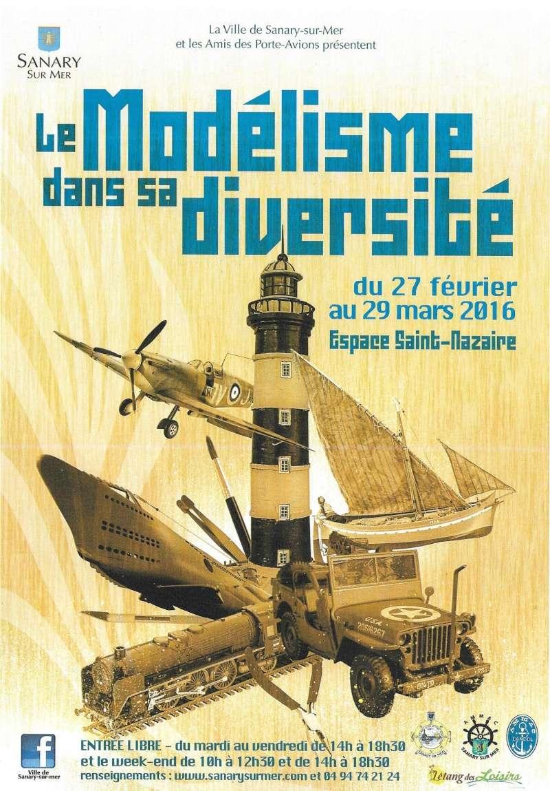 Exposition de Modélisme à SANARY / Mer Affich13