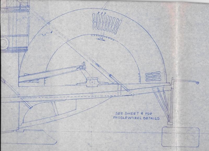 Le Marieville mississipi boat au 1/50° sur plan  - Page 2 Bayley12