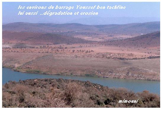 Etapes successives de dégradation de l'environnement a Chtouka Ait baha Degrad10