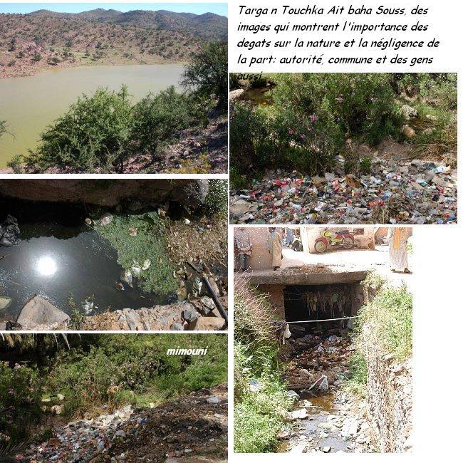 Etapes successives de dégradation de l'environnement a Chtouka Ait baha Targa_10