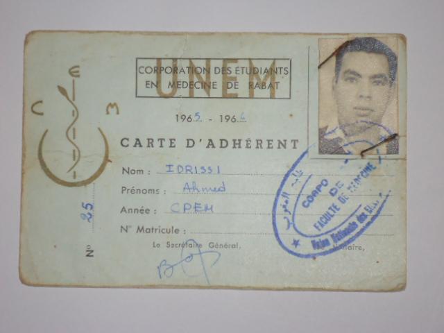 Biographie sommaire de l'Administrateur du Forum Dr IDRISSI MY AHMED Dsc01411