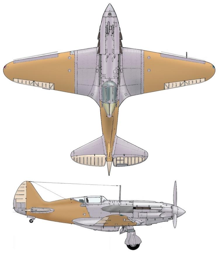 MiG3 fin de série, Hobby Boss 1/72 _doc_t10