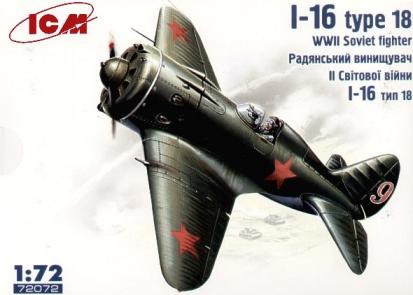 Montage: Polikarpov I-16 type 10 1/72 _kitbo10