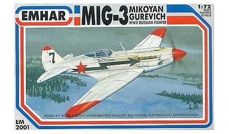 Montage: MiG3 fin de série, Hobby Boss 1/72 Emhar-10