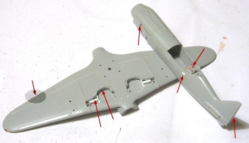 Montage: MiG3 fin de série, Hobby Boss 1/72 Montag12