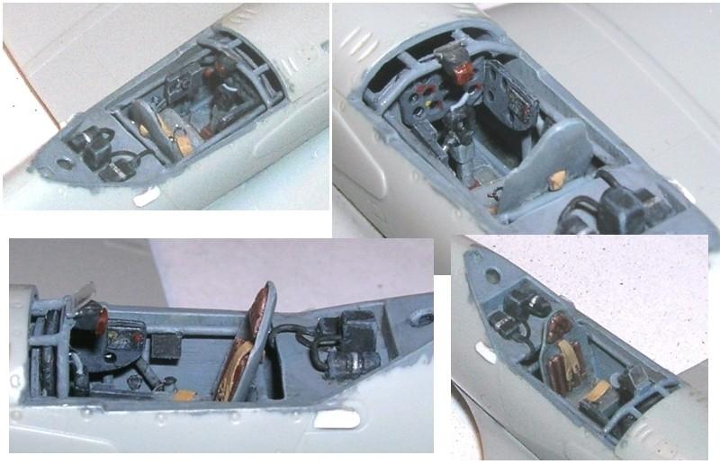 Montage: MiG3 fin de série, Hobby Boss 1/72 Montag16