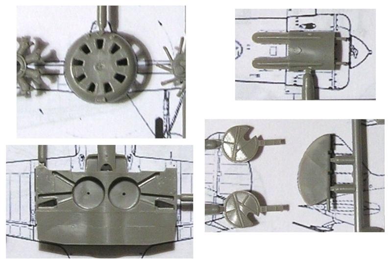 Montage: Polikarpov I-16 type 10 1/72 Montag23