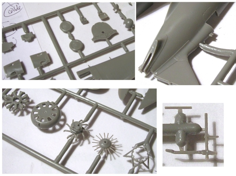 Montage: Polikarpov I-16 type 10 1/72 Montag24