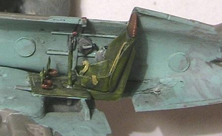 Montage: Polikarpov I-16 type 10 1/72 Montag35