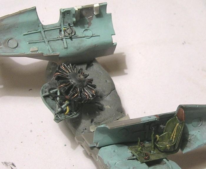 Montage: Polikarpov I-16 type 10 1/72 Montag36