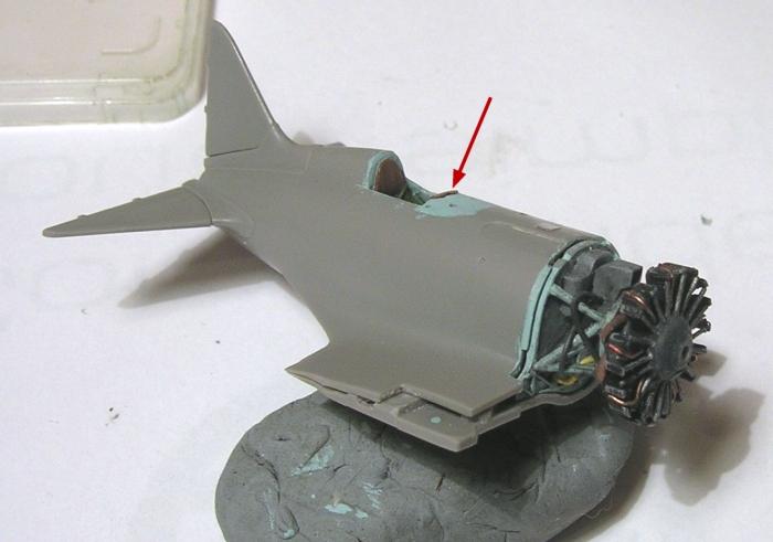Montage: Polikarpov I-16 type 10 1/72 Montag38