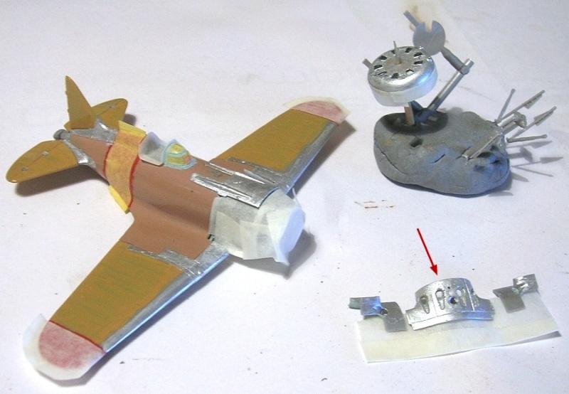 Montage: Polikarpov I-16 type 10 1/72 Montag40