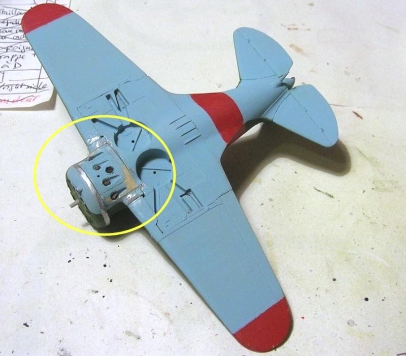 Montage: Polikarpov I-16 type 10 1/72 - Page 2 Montag43
