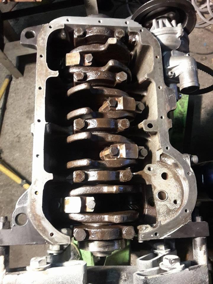 remise en état moteur  compartiment 12399311