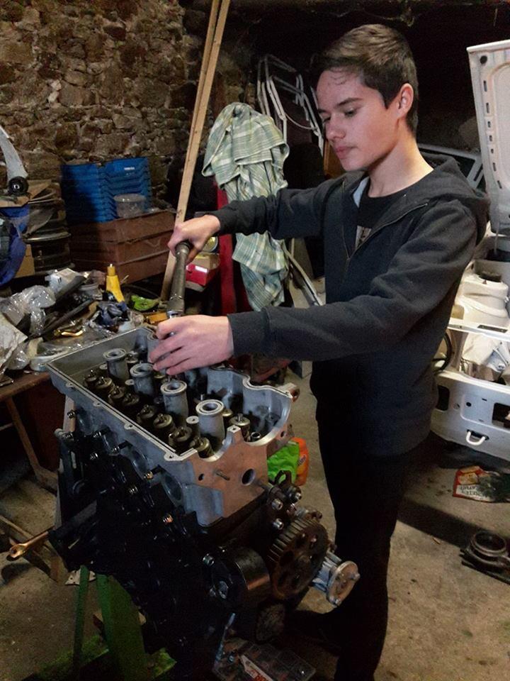 remise en état moteur  compartiment 12583910