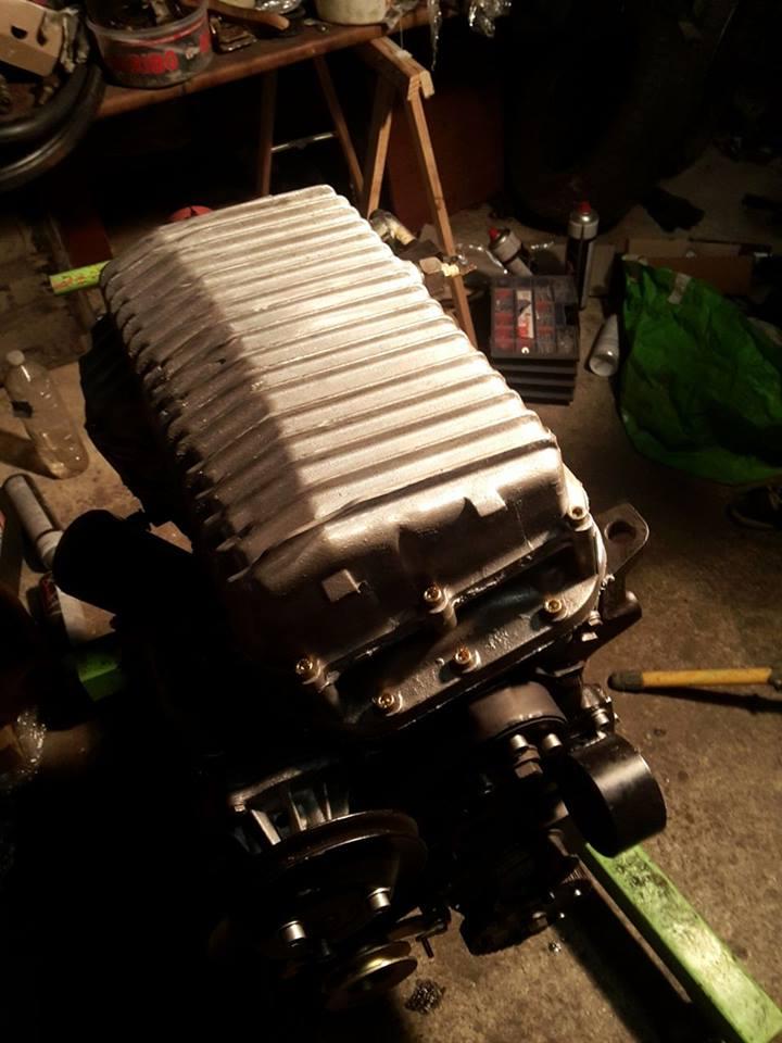 remise en état moteur  compartiment 12584210