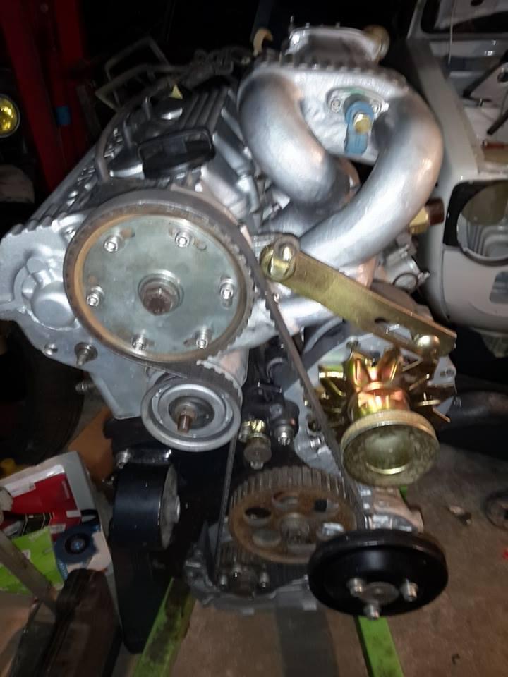 remise en état moteur  compartiment 12596410