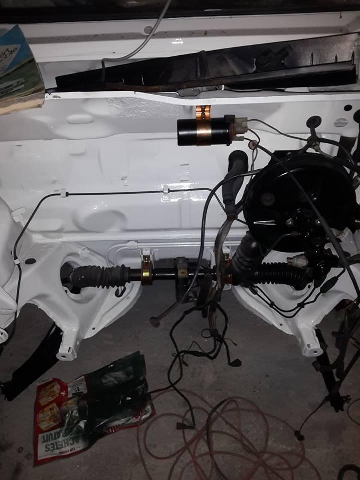 remise en état moteur  compartiment 12626010