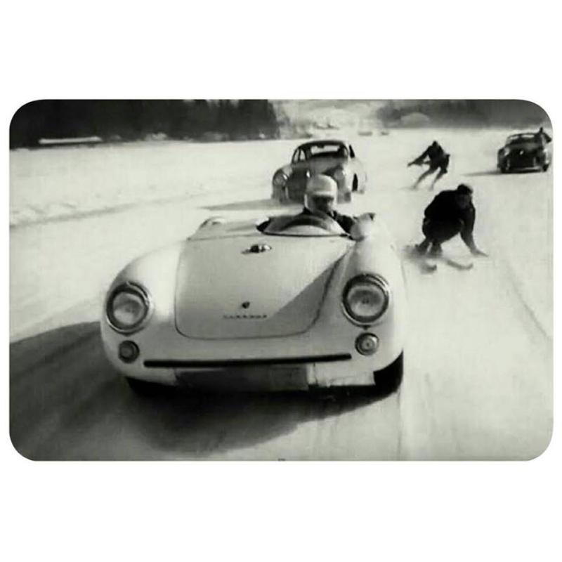 Porsche en hiver 12346312
