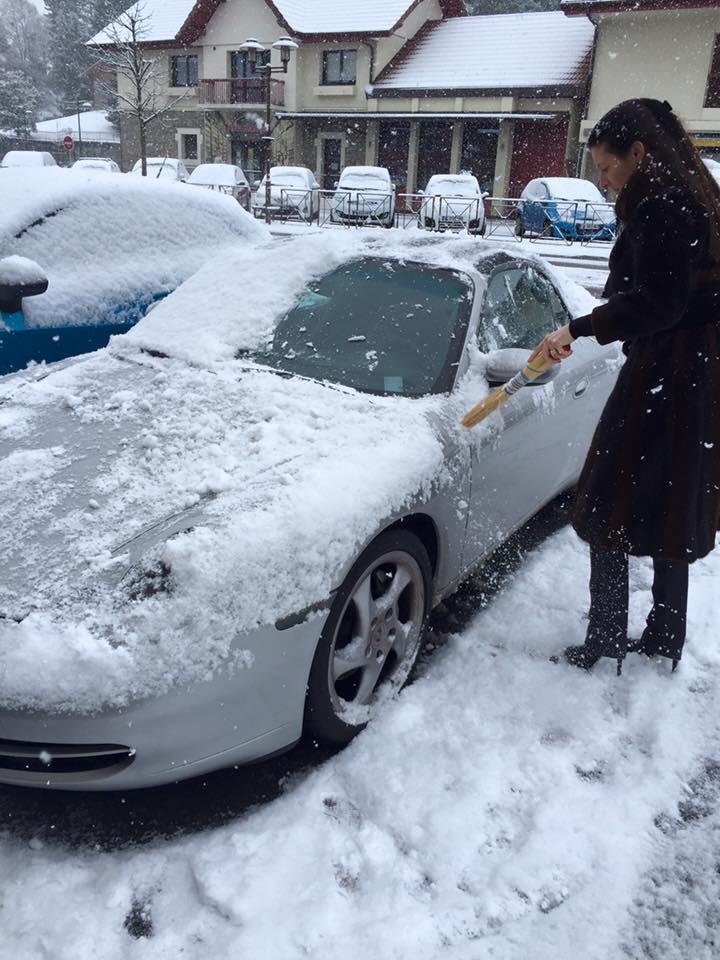 Porsche en hiver 12510210