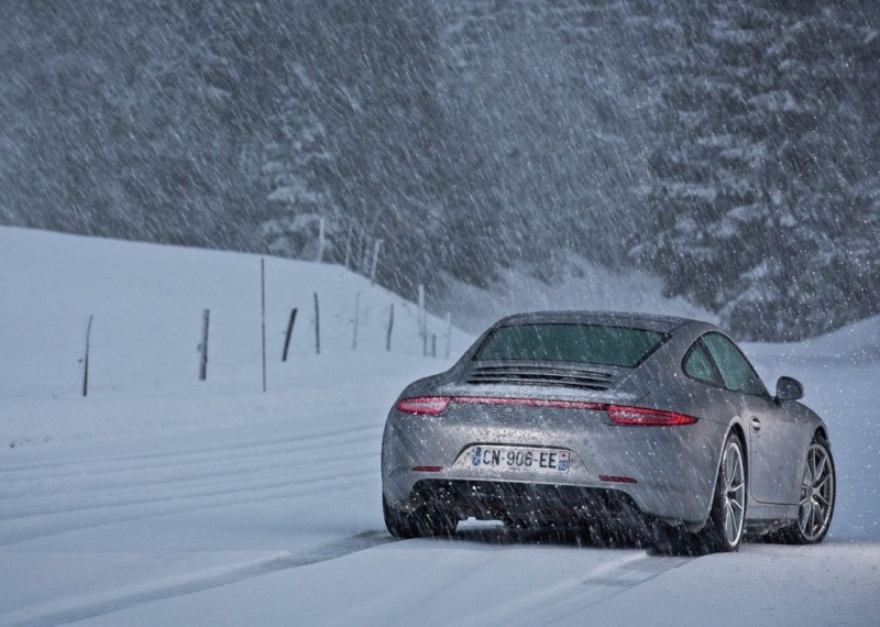 Porsche en hiver Z2084011